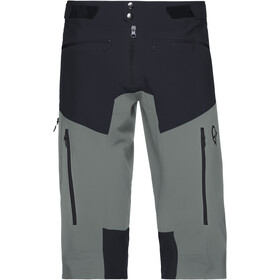 Norrøna Fjørå Flex1 Shorts Men caviar/castor grey